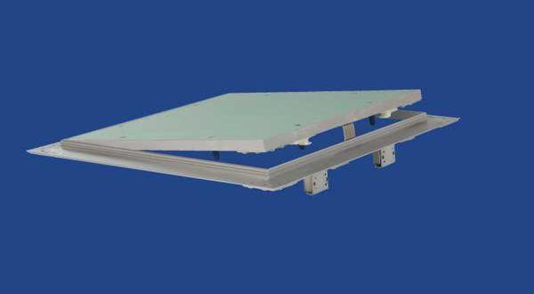Alukeretes gipszkarton szervizajtó - 30 x 30 cm