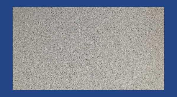 Ásványszálas kazettás álmennyezeti lap DIA, KRÁTERES - 600 x 600 x 12 mm