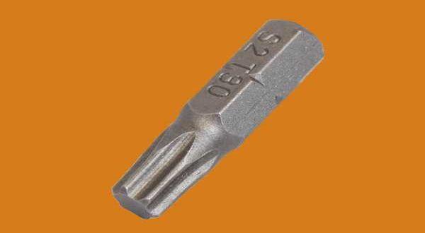 Behajtóhegy tokrögzítő csavarhoz - TORX30 - 25 mm
