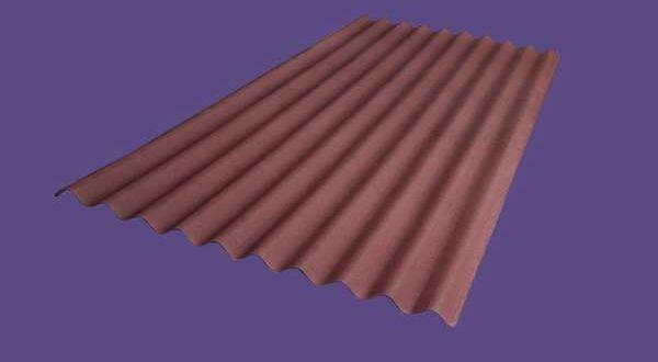 BITU-LINE bitumenes hullámlemez - 200 x 93 cm - vörös
