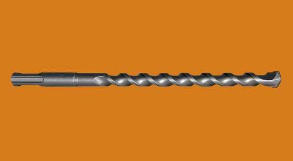 ECO keményfémlapkás ütvefúró, SDS bef. - 6 x 160/100 mm