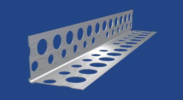 EKO alumínium élvédő profil - 20 x 20 x 0,28 mm - 2,5 fm/db