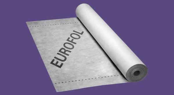 EUROFOL páraáteresztő tetőfólia - 100 g/m2 - 1,5 x 50 m