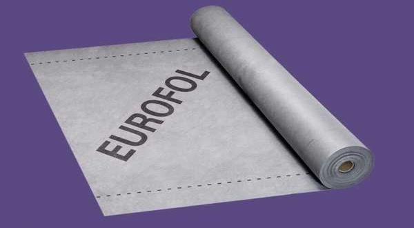 EUROFOL WALL páraáteresztő homlokzati fólia - 1,5 x 50 m