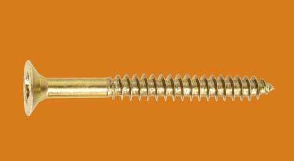 Forgácslap csavar - 6 x 200 mm