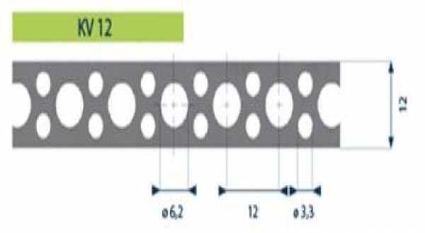 Hilti tip. acél rögzítőszalag - 12 x 0,7 mm x 10 m/tek