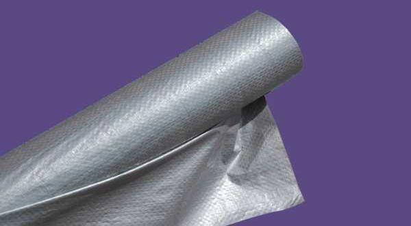 ISOFOL ezüst szőtt, extraerős tetőfólia - 1,5 x 50 m
