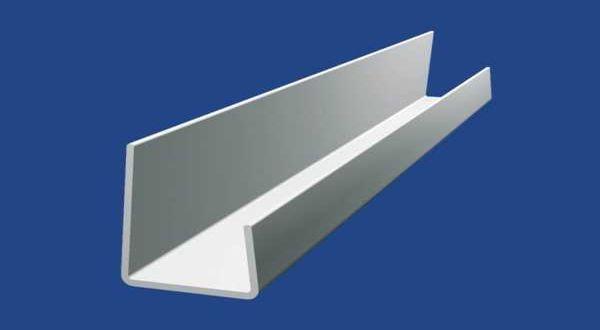 J-PVC szegőprofil 9,5 mm gipszkartonhoz