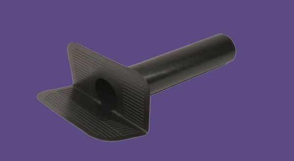 Oldalkifolyó lapostetőhöz - O 120 mm