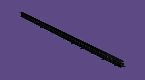 Szellőzőléc - 32 mm x 1 m - antracit