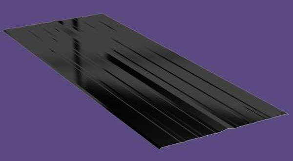 Univerzális alumínium vápaelem - 2 x 0,5 m - antracit