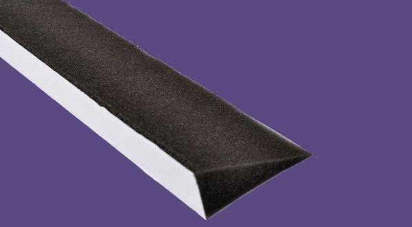Vápatömítő szivacs - 3 cm x 6 cm x 1 m/db - antracit