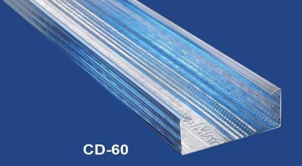 Vázprofil álmennyezethez - 0,6 mm CD60 - 4 fm/db